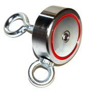 Двухсторонний поисковый магнит Редмаг F200х2 (200 кг) фото