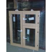 Продажа деревянных окон со стеклопакетами фото