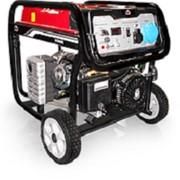 Бензиновый генератор Вулкан SC9000E 1ф 8,0кВт эл.старт, 25л, колеса фото