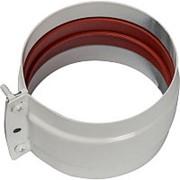 STOUT Элемент дымохода соединительный адаптер внешний с рукавом для труб DN80 п/п фото