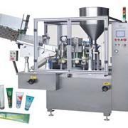 Машина для розлива с термо-воздушным методом запайки тубы, производительность 40 шт. /в минуту HTGF-40 Inner-Heating Filing & Sealing Machine фото