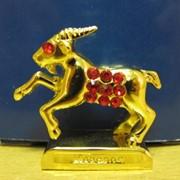 Дракон серебряный -фигурка со стразами -Знаки года рождения, арт. 1989 фото