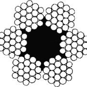 Канат стальной многопрядный ГОСТ 2688-80 фото