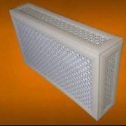 Экран-короб из МДФ для полного декорирования радиатора отопления. фото