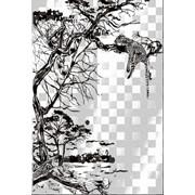 Обработка пескоструйная на 2 стекло артикул 105-02 фото
