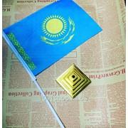 Настольный флаг Казахстана фото