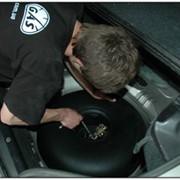 Установка газобалонного оборудования на автомобили. фото