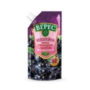 """Десерт витаминизированный черная смородина с сахаром """"Верес"""" 250г фото"""