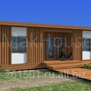 Проект дома Leon 43м2 фото