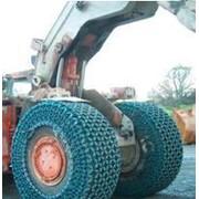 Цепи шинозащитные для землеройно-транспортных и погрузочных машин фото