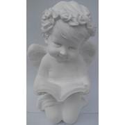 Ангел з Св.Письмом білий фото