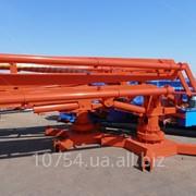 Стрела бетонораздаточная гидравлическая (малая) HGY 15 фото