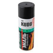 Краска эмаль Алкидная (KUDO) 520 мл черная фото