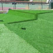 Установка и обслуживание искусственных газонов в садах и на домашних лужайках фото