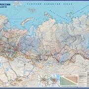 """Настенная карта """"Пути сообщения России"""" фото"""