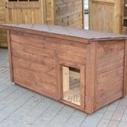 Будки для собак деревянные фото