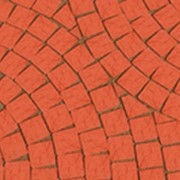 Клинкерная брусчатка Lode JANKA темно-красная 60х60х52 фото