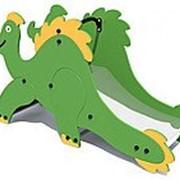 Горка динозавр фото