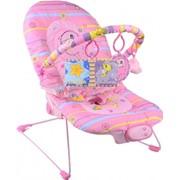 """Кресло-качель Eurobaby """"Розовый дельфин"""" BR90001P-2 фото"""