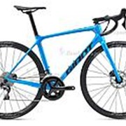 Велосипед Giant TCR Advanced 1 Disc Pro Compact (2020) Синий 21 ростовка фото