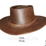 Модель Кожаная ковбойская шляпа фото