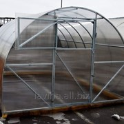 Теплица Урожай Элит, длина 8000 мм, поликарбонат 4 мм, 6 лет заводской гарантии фото