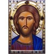 Икона писанная Спас фото