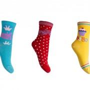Детские хлопковые носки (демисезонные). Артикул 818 фото