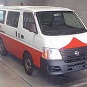 Микроавтобус грузовой фургон кат B NISSAN CARAVAN гв 2010 грузоподъемность 1 250 кг фото