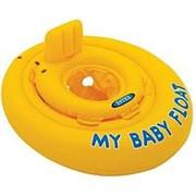 "Круг для плавания Intex 56585 ""my Baby Float"" 70 см (От 6-12 месяцев) фото"