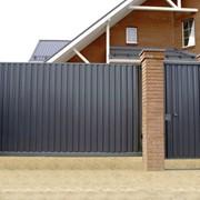 Откатные ворота с установкой фото