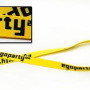 Шнурки с логотипом фото