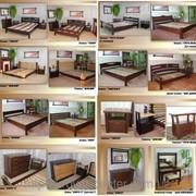 Мебель для спальни из натурального дерева (массив - сосна, ольха, дуб) фото