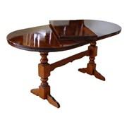 Мебель из натурального красного дерева, Стол 180 x 80 Овал фото