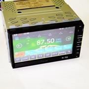 2din Магнитола Pioneer PI-703 GPS+USB+BT+TV+SD фото