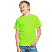 Детская футболка StanClass 06U Ярко-зелёный 10 лет фото