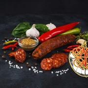 Салями Чоризо Salame Chorizo свиная сыровяленая колбаса фото