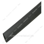 Термоусадка 6 (1м) черная №992179 фото