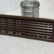 Решетки вентиляционные типа РГ; РВ. Вентиляционные решетки РГ и РВ предназначены для эффективного распределения потока приточного воздуха в горизонтальной (РГ) или вертикальной (РВ) плоскости. фото