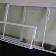 Полка стеклянная для холодильника фото