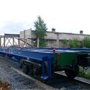 Вагоны грузовые железнодорожные (Платформы) фото