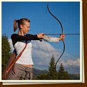 Стрельба из охотничьего лука, пневматического оружия и метание ножей фото