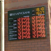 Табло котировки валют фото