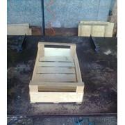 Ящики шпоновые деревянные для слив (Украина) фото