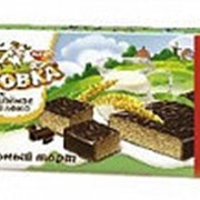 Торт вафельный Коровка со вкусом топленого молока, Рот Фронт, 250 гр. фото