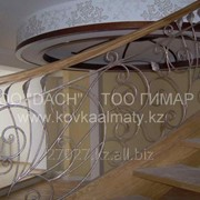 Кованые перила 12 фото