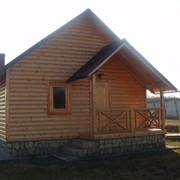 Строительство деревянных домов,беседок, бань,саун. фото