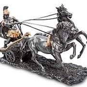 Скульптура Воин на колеснице 26х17х9,5см. арт.WS-28 Veronese фото