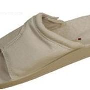 Обувь медицинская- мужская, кожаная, с открытой пяткой, с липучкой PU-02-20-21-20-KS фото