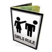 Оригинальная обложка для паспорта Девушки Рулят фото